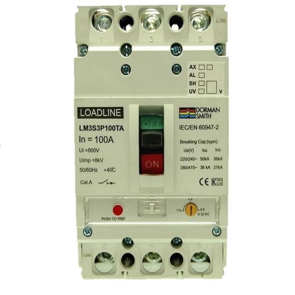 کليد اتوماتيک 63 آمپر دورمن اسمیت مدل LM3S3P63TA