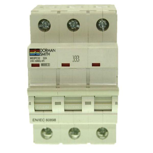 کلیدمینیاتوری سه فاز 50 آمپر دورمن اسمیت مدل MS3PC50