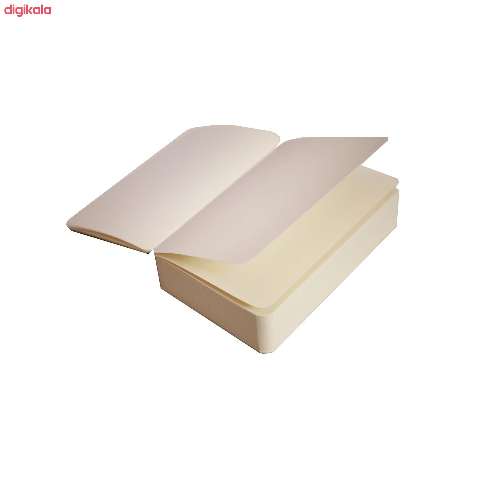 کاغذ یادداشت هرمز کد 601 بسته 200 عددی main 1 4