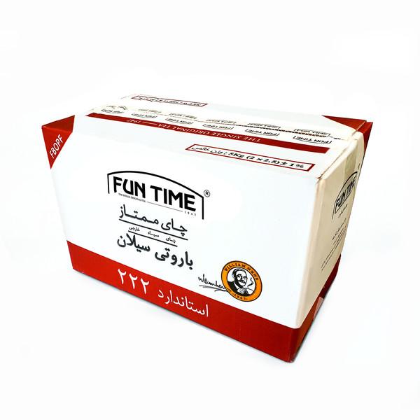 چای سیاه باروتی سیلان 222 - 5 کیلوگرم