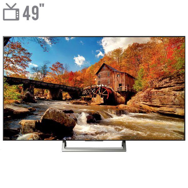 تلویزیون هوشمند ال ای دی سونی مدل KD-49X7000E سایز 49 اینچ