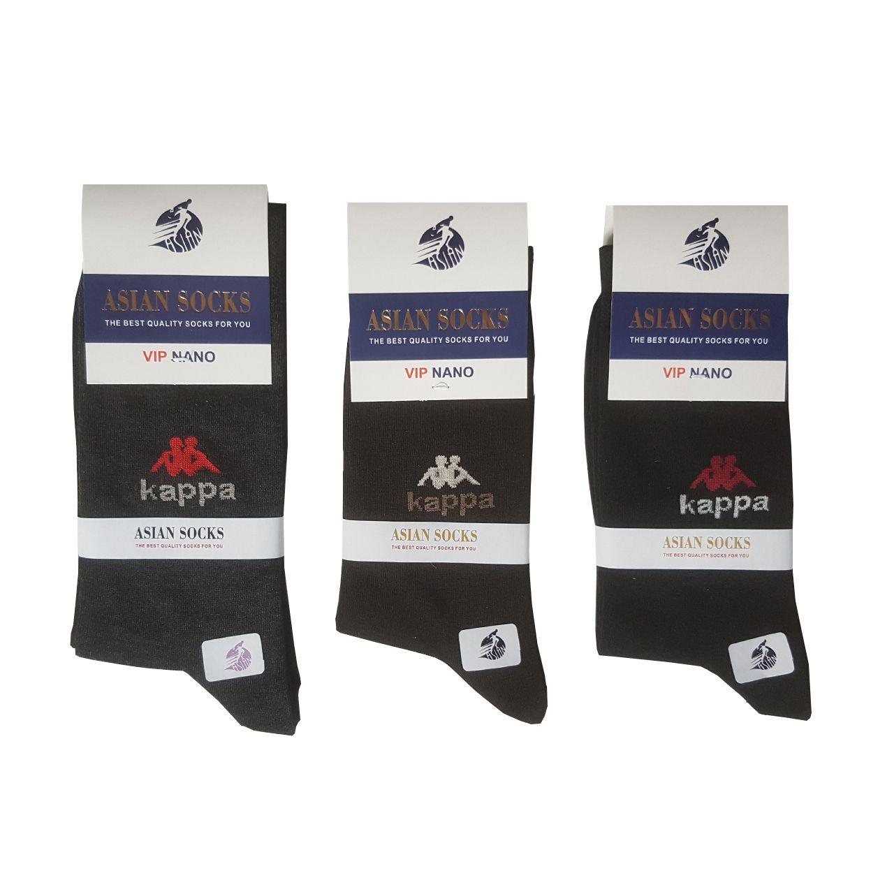 جوراب مردانه آسیان ساکس کد PH321 مجموعه 12 عددی -  - 10
