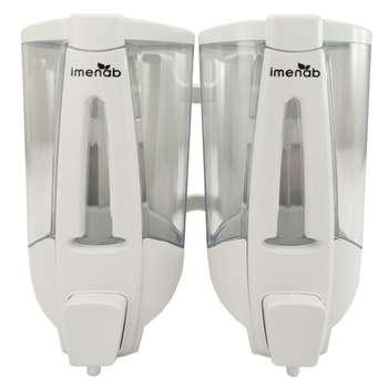 پمپ مایع دستشویی دوقلو ایمن آب مدل ونیز کد V105