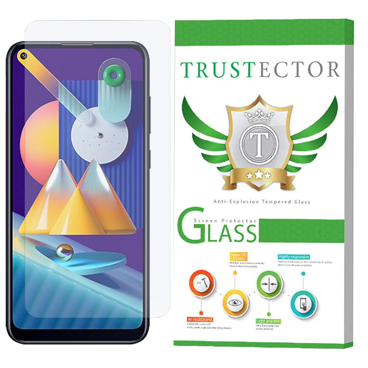 محافظ صفحه نمایش تراستکتور مدل GLS مناسب برای گوشی موبایل سامسونگ Galaxy M11