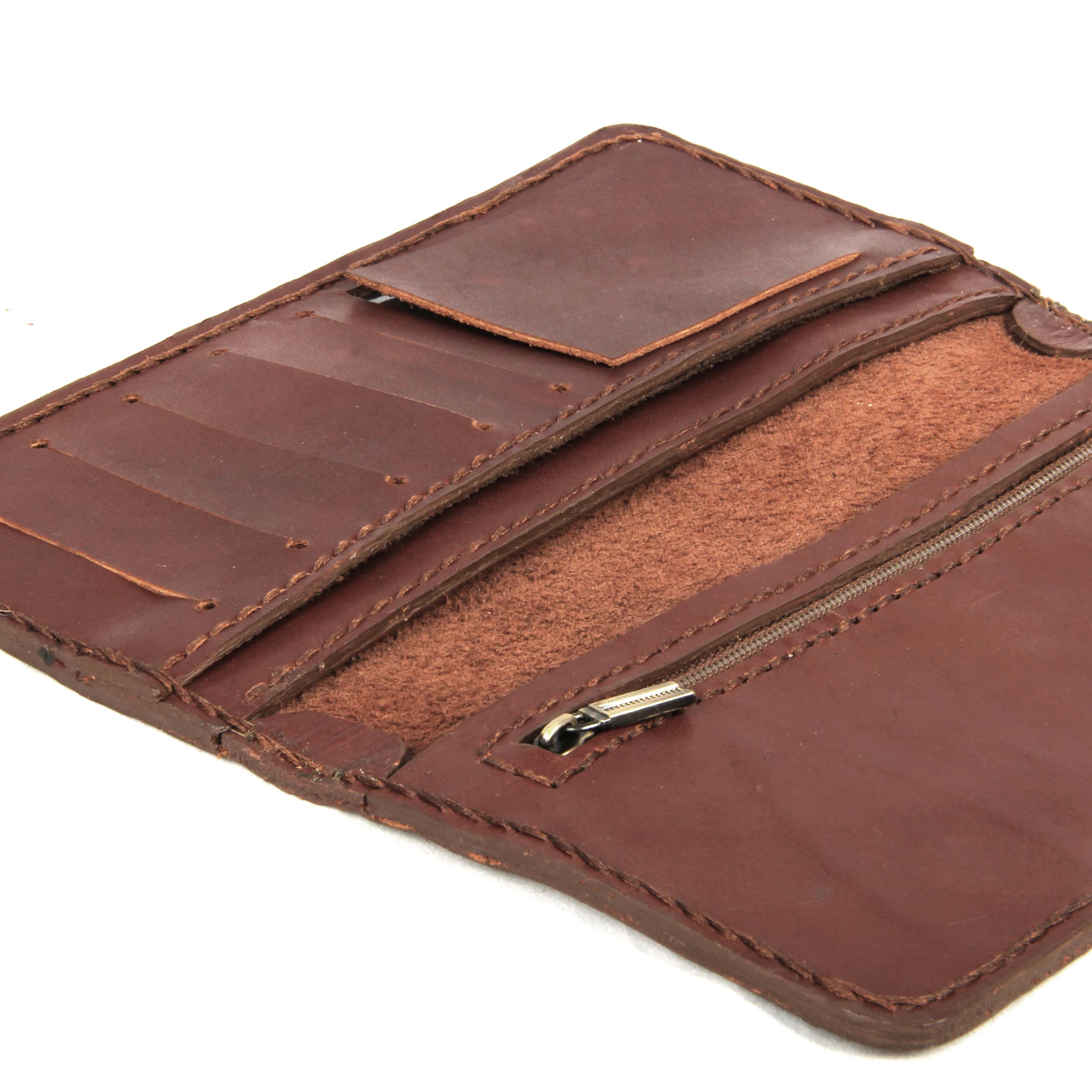 خرید                      کیف پول چرمی کد 120