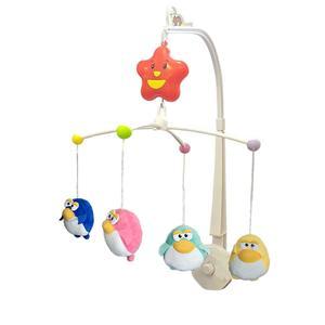 آویز تخت کودک شنگ ران تویز مدل Happy Shaking Bell