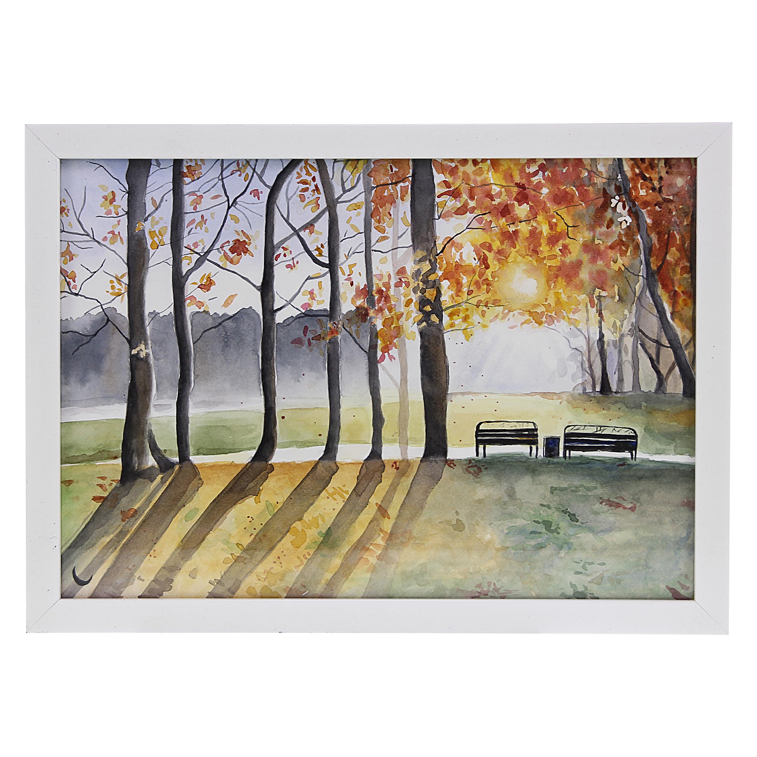 خرید                      تابلو نقاشی طرح طبیعت کد155
