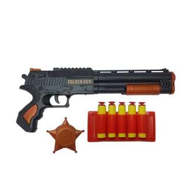 تفنگ بازی گلدن گان مدل naabsell10