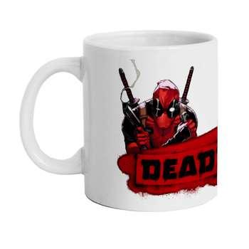 ماگ طرح Deadpool Marvel مدل M1575