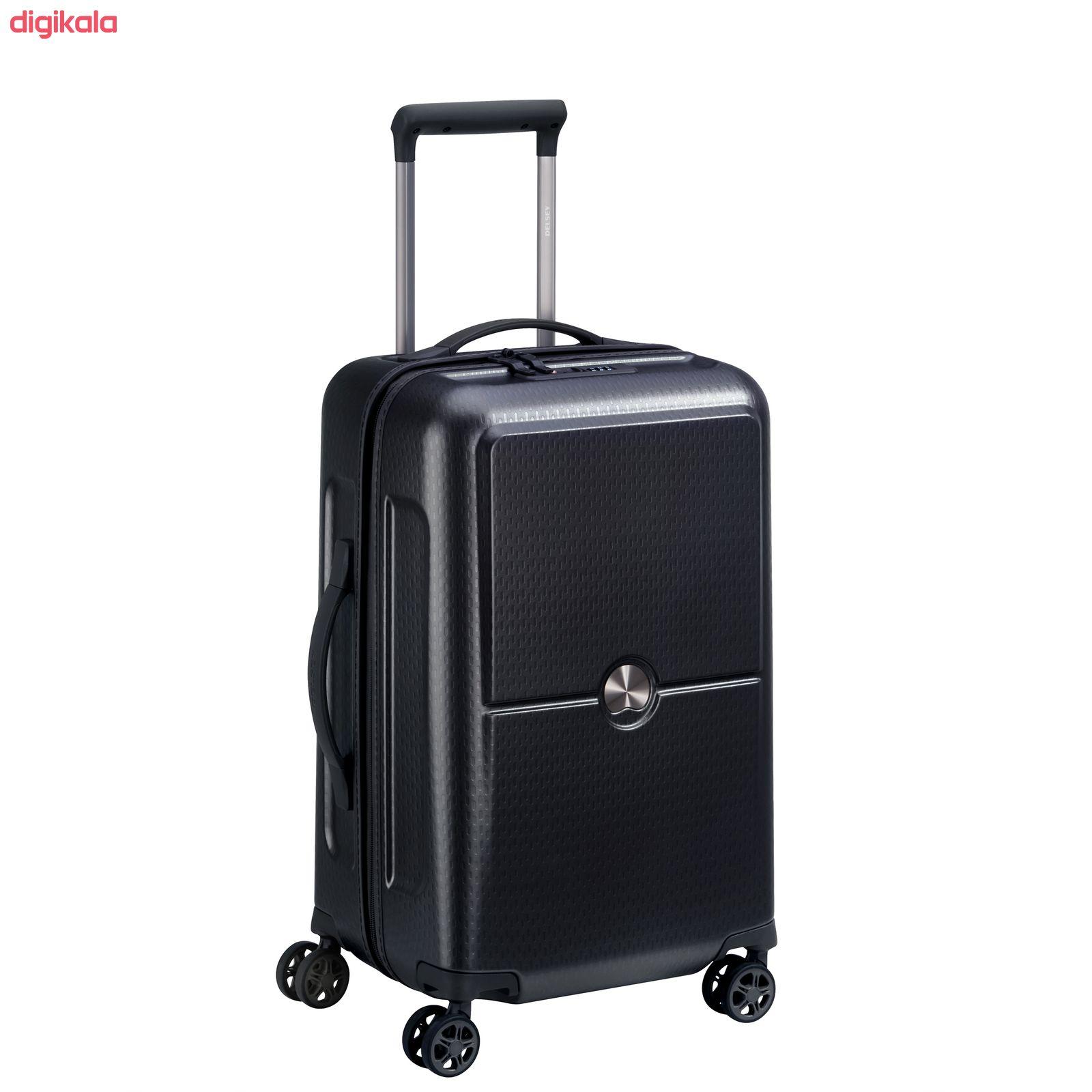 چمدان دلسی مدل TURENNE کد 1621801 سایز کوچک main 1 10