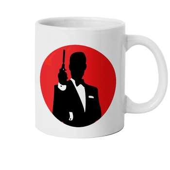 ماگ طرح جیمز باند 007 مدل M1611