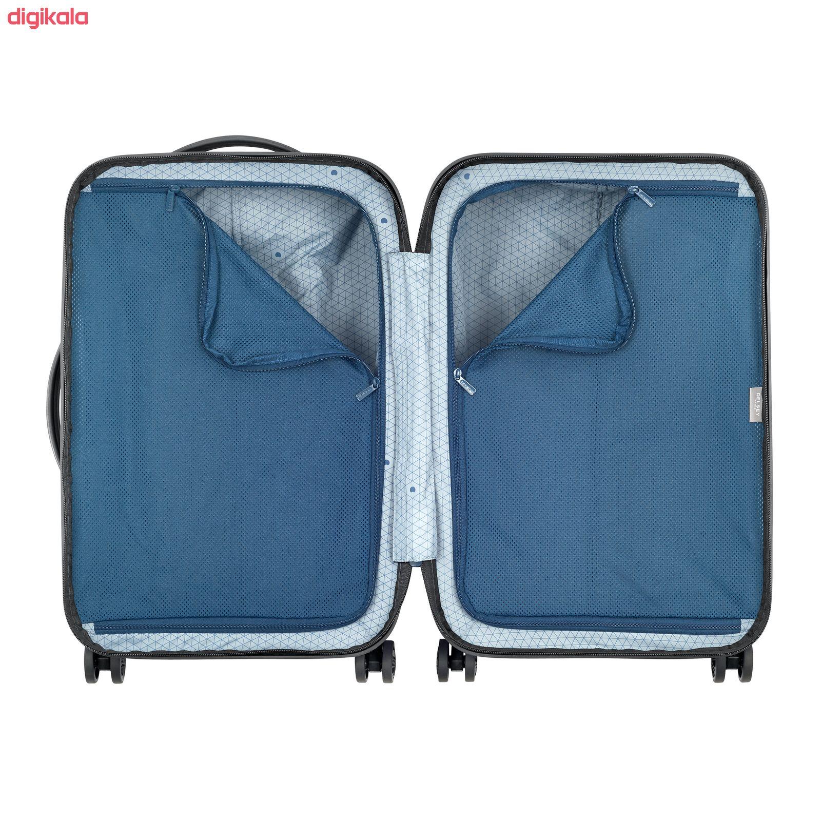 چمدان دلسی مدل TURENNE کد 1621801 سایز کوچک main 1 2