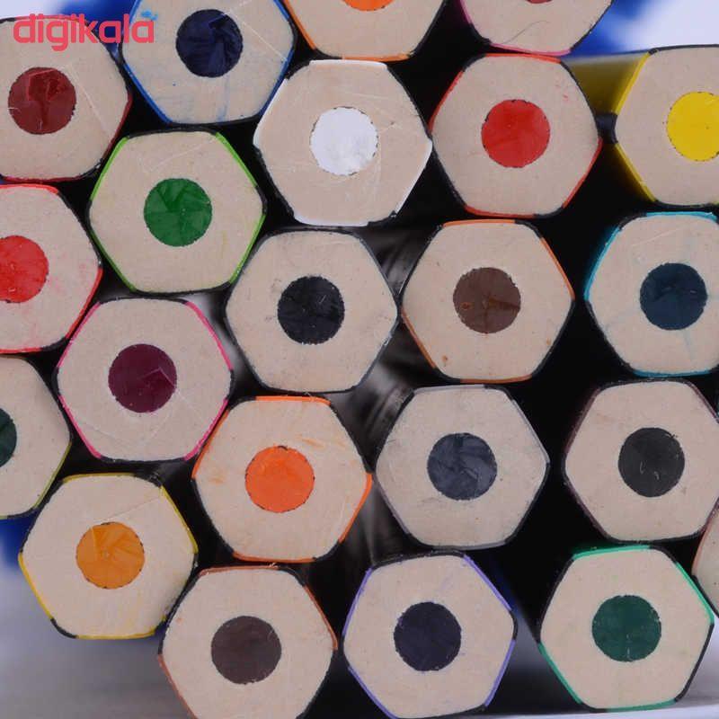 مداد رنگی 24رنگ استدلر مدل Noris Colour 185 C24 main 1 6