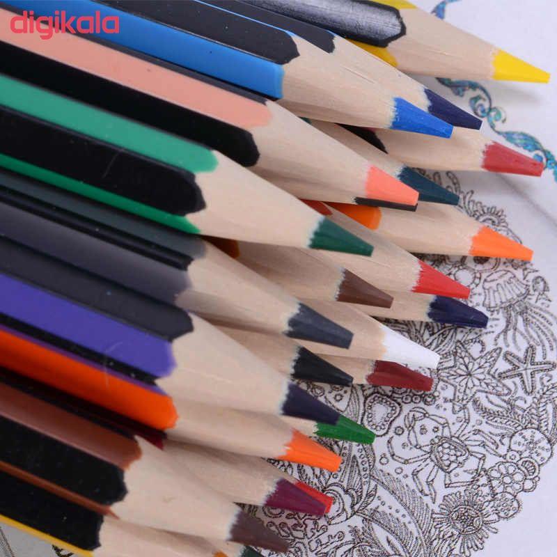 مداد رنگی 24رنگ استدلر مدل Noris Colour 185 C24 main 1 7