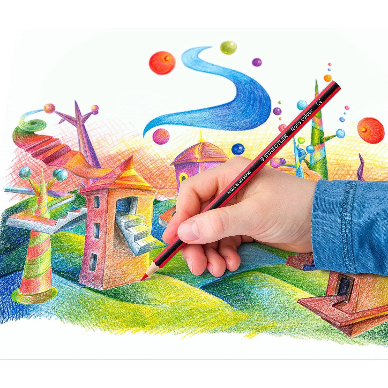 مداد رنگی 24رنگ استدلر مدل Noris Colour 185 C24 main 1 9