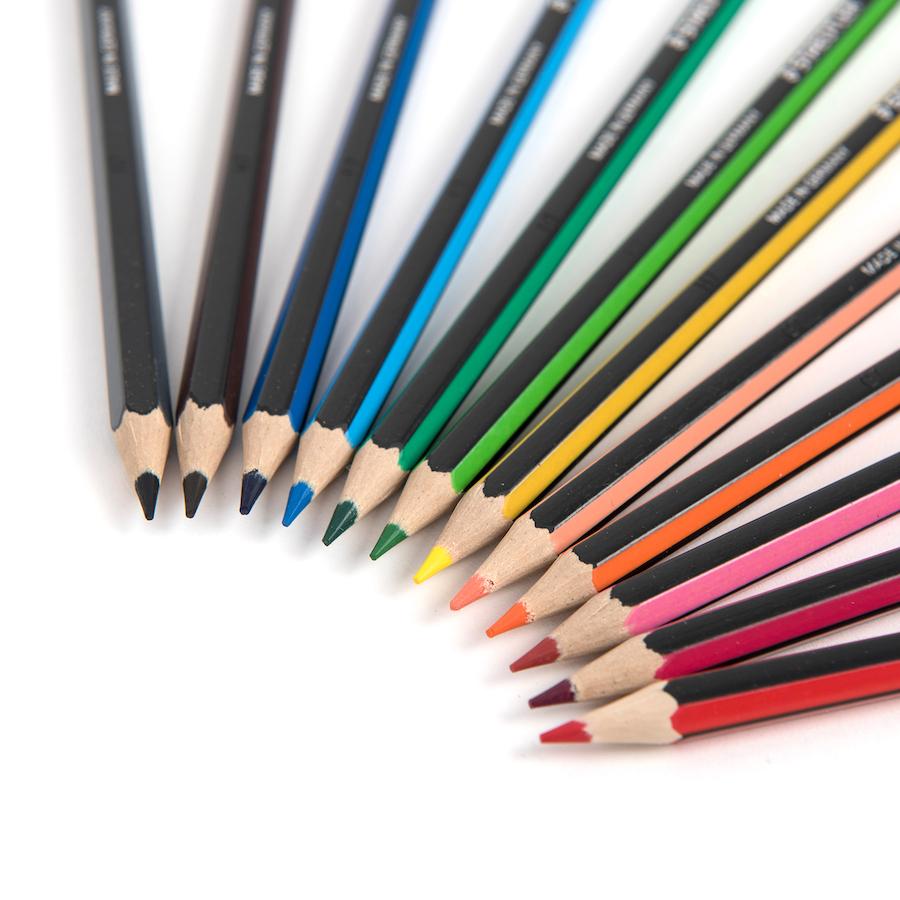مداد رنگی 24رنگ استدلر مدل Noris Colour 185 C24 thumb 12