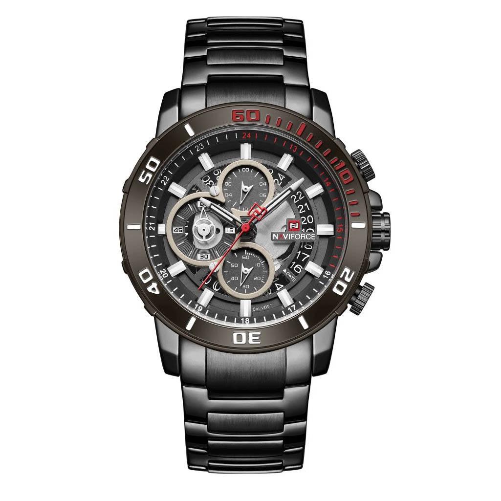 قیمت و خرید                      ساعت مچی عقربه ای مردانه نیوی فورس مدل NF9174 BBB