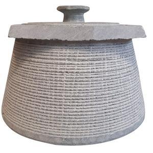 ظرف دیزی سنگی مدل باراباس کد DZ0606