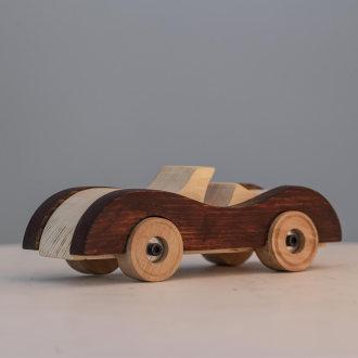 اسباب بازی چوبی مدل ماشین
