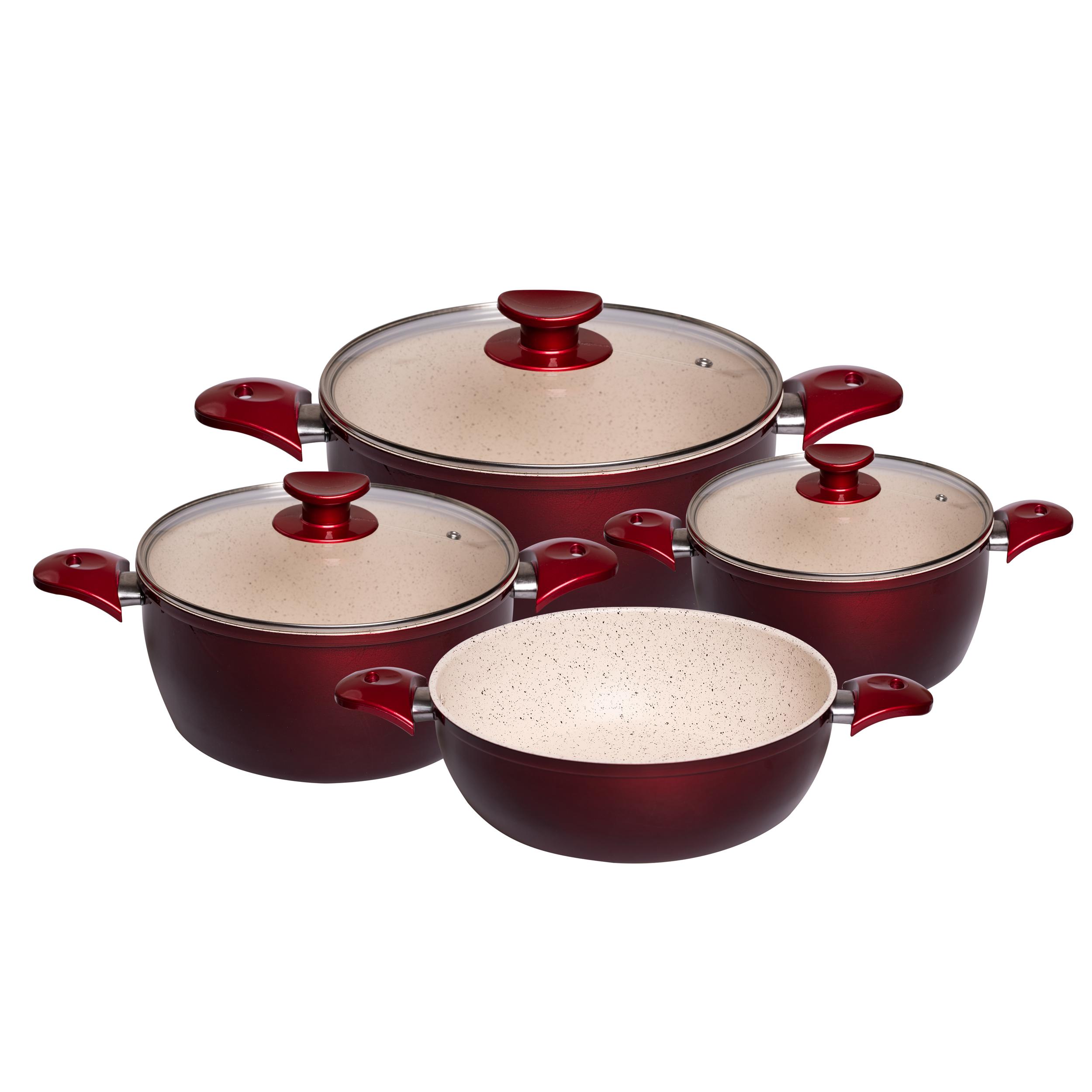 سرویس پخت و پز 7 پارچه هاناتک مدل رز