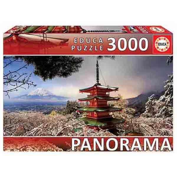 پازل 3000 تکه ادوکا مدل MOUNT FUJI JAPAN PANORAMA