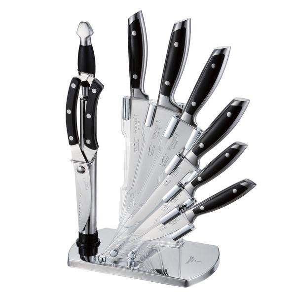 ست چاقو آشپزخانه 9 پارچه وینر کد 7335