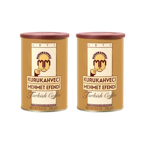 قهوه ترک کلاسیک مهمت افندی - 250 گرم بسته 2 عددی
