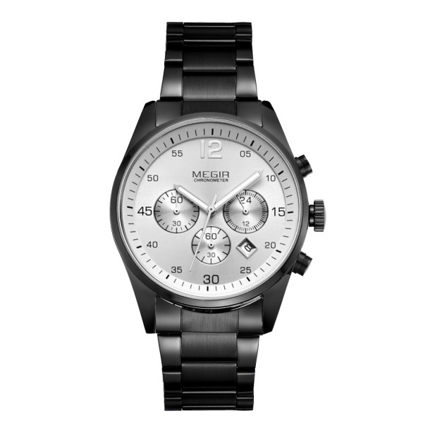 ساعت مچی عقربه ای مردانه مگیر مدل MS2010GBK-7