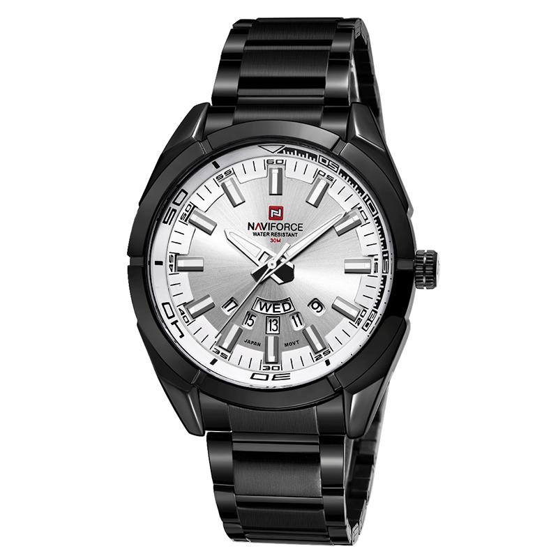 قیمت و خرید                      ساعت مچی عقربه ای مردانه نیوی فورس مدل nf9038-bw