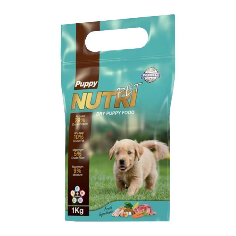 غذای خشک پروبیوتیک توله سگ نوتری پت مدل Puppy 29 Percent وزن 1 کیلوگرم