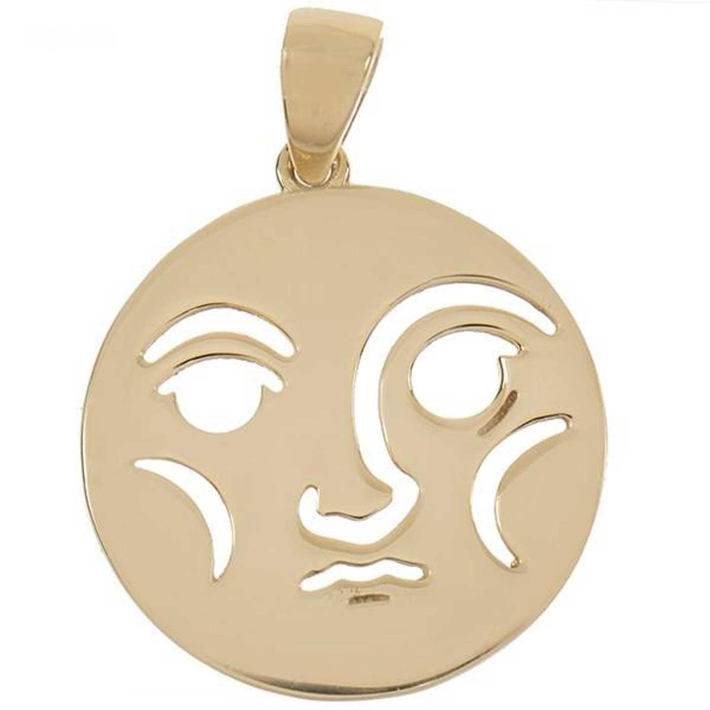 آویز گردنبند طلا 18 عیار زنانه کانیار گالری کد PE11 -  - 1