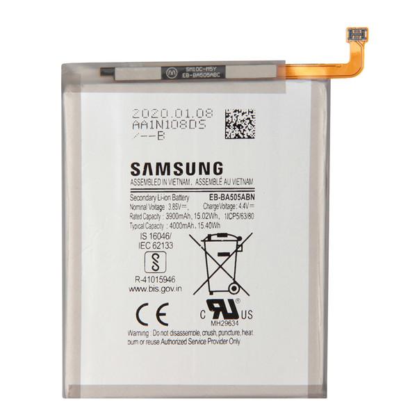 باتری موبایل مدل EB-BA505ABU ظرفیت ۴۰۰۰ میلی آمپر ساعت مناسب برای گوشی سامسونگ Galaxy A50