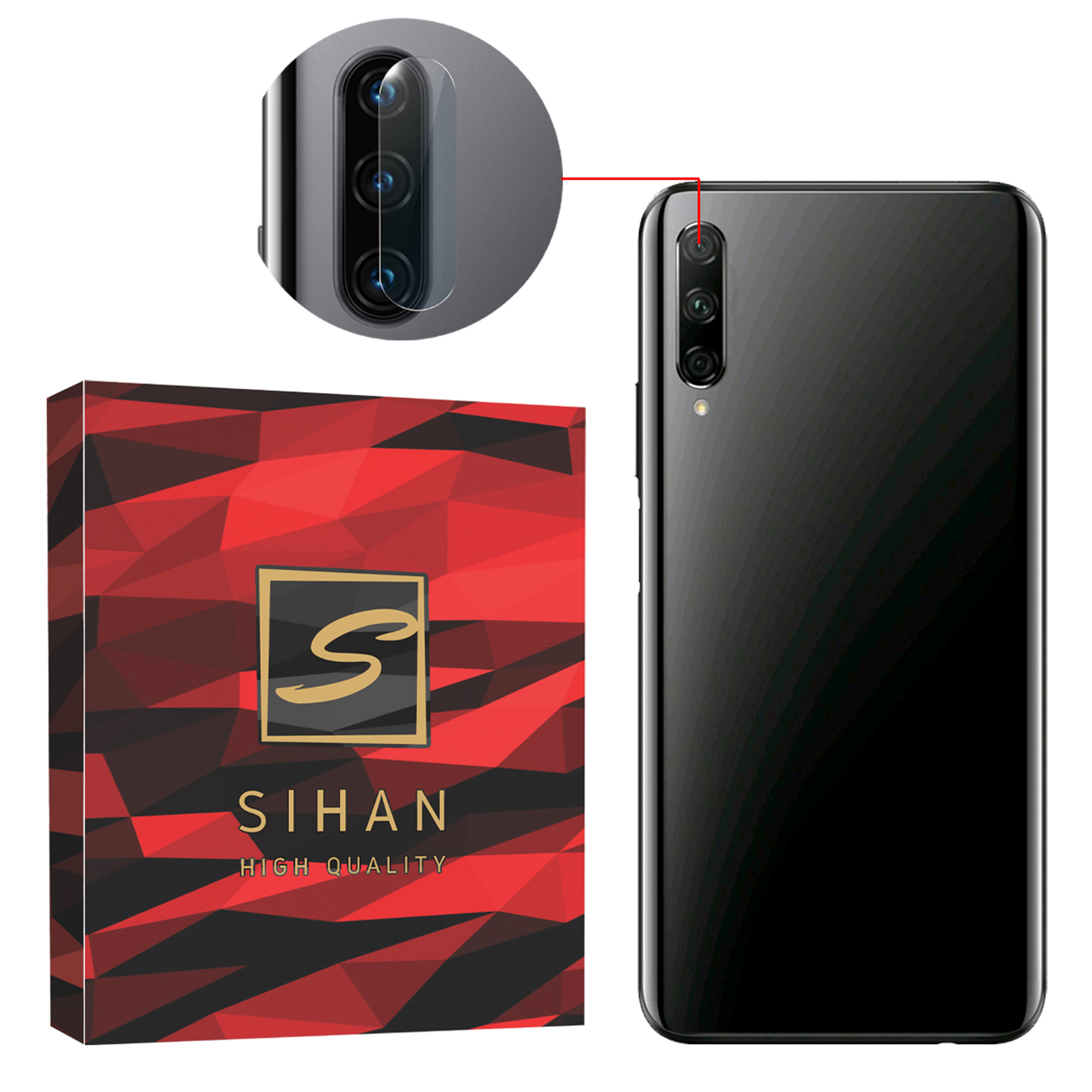 محافظ لنز دوربین سیحان مدل GLP مناسب برای گوشی موبایل هوآوی Y7P              ( قیمت و خرید)