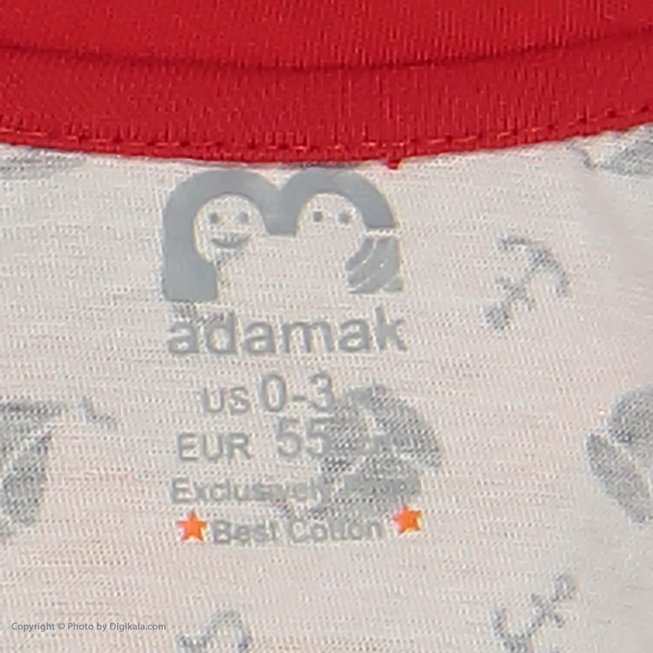سرهمی نوزادی پسرانه آدمک مدل 2171110-72 -  - 6
