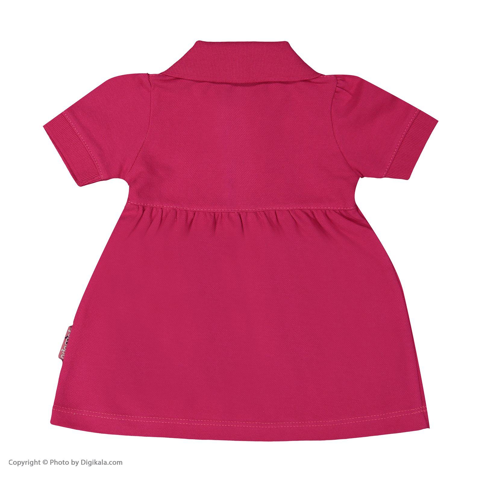 ست پیراهن و شلوارک نوزادی دخترانه آدمک مدل 2171109-88 -  - 5