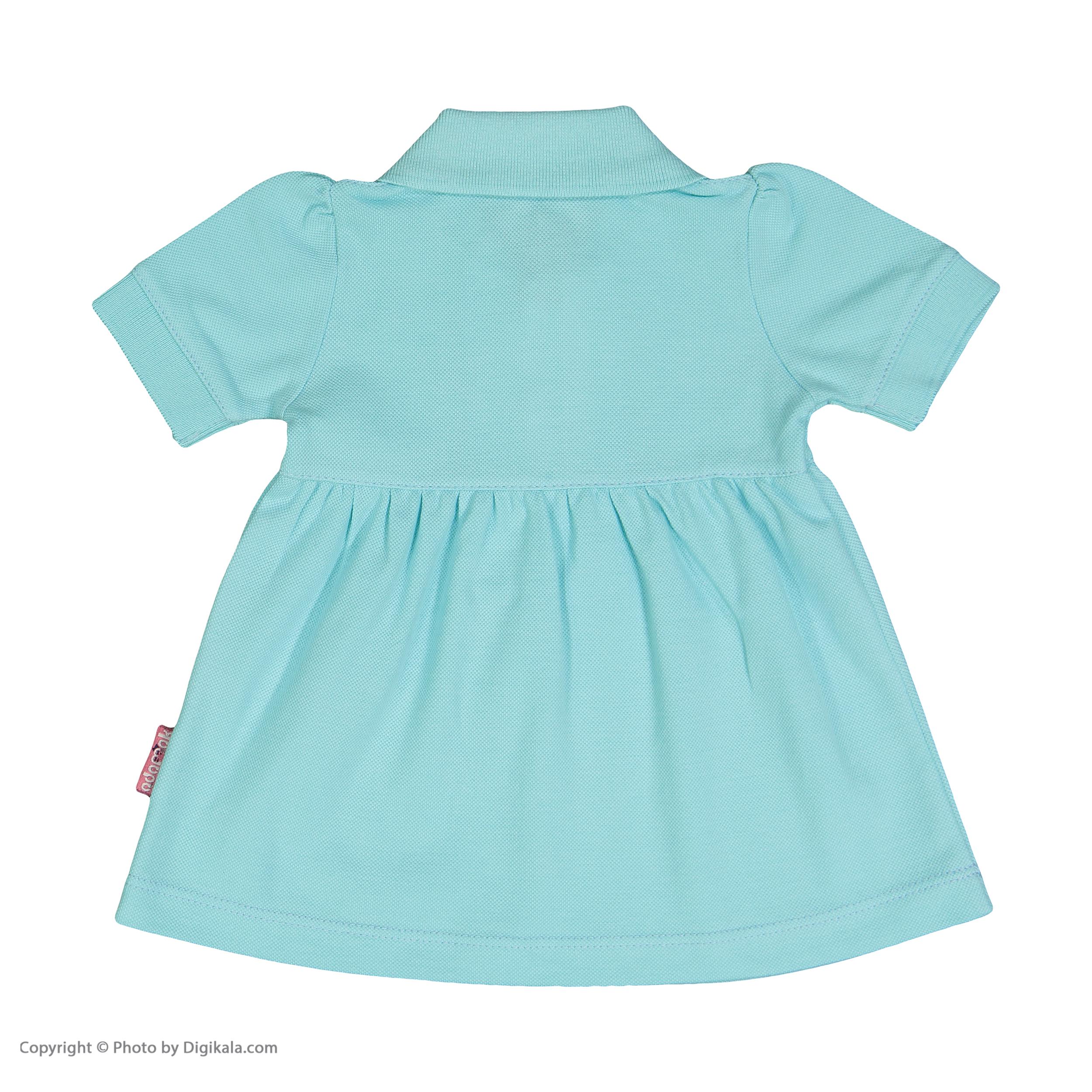 ست پیراهن و شلوارک نوزادی دخترانه آدمک مدل 2171109-53 -  - 5