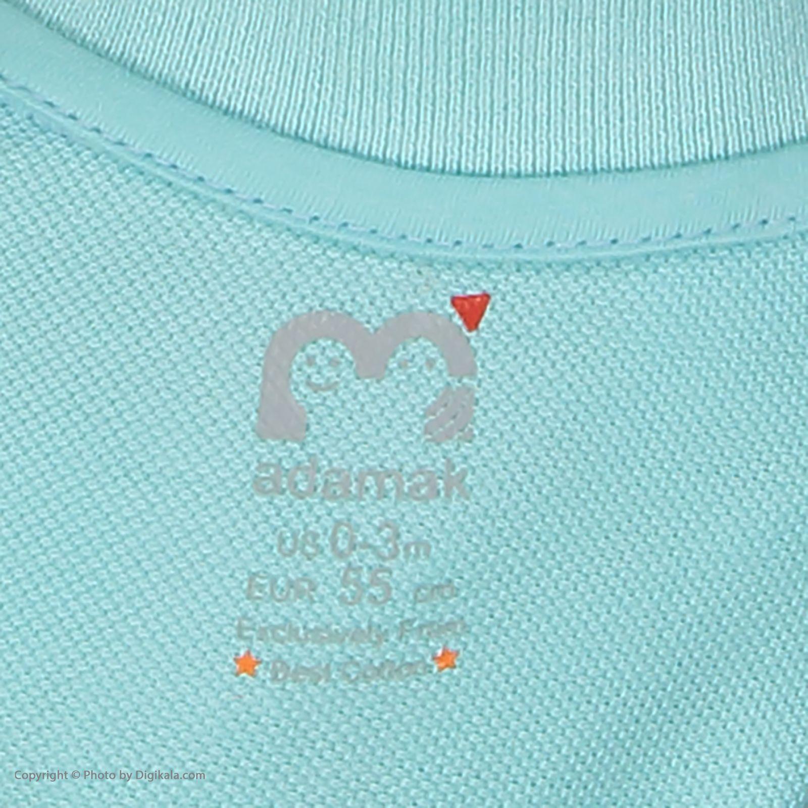 ست پیراهن و شلوارک نوزادی دخترانه آدمک مدل 2171109-53 -  - 11