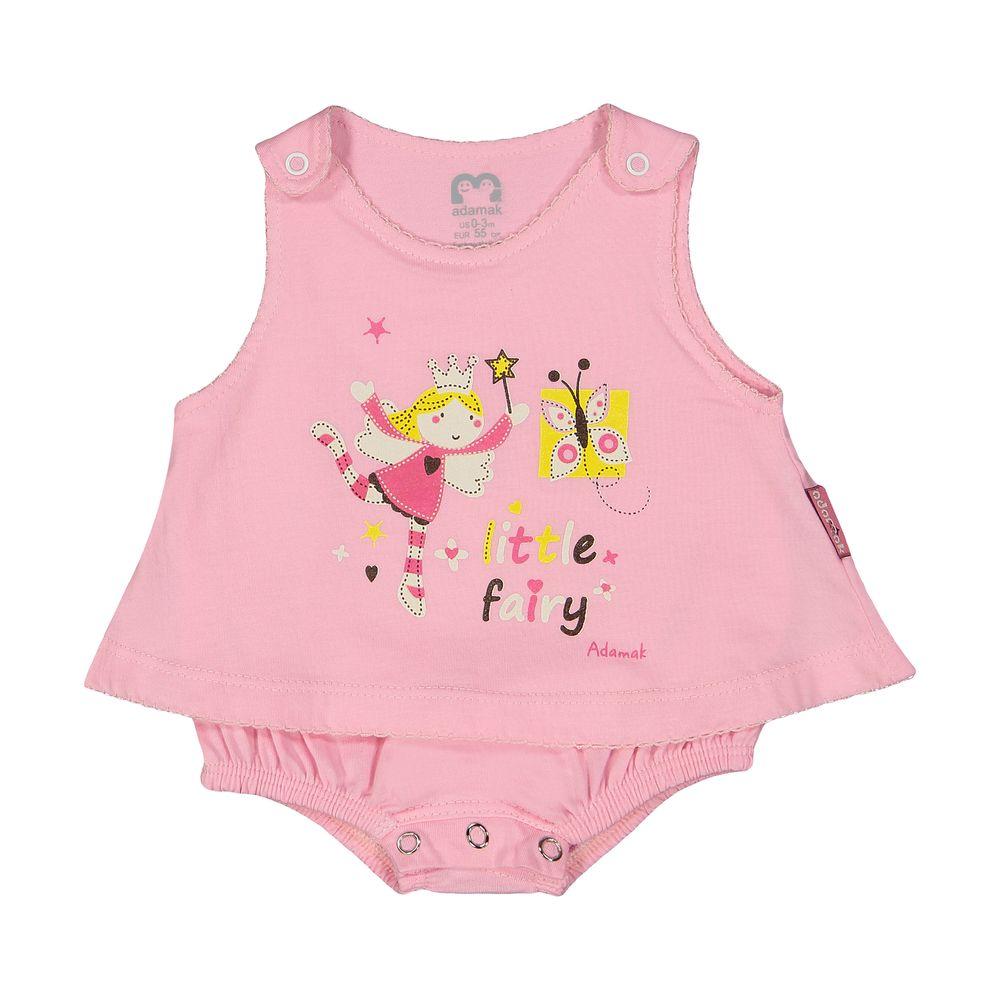 سرهمی نوزادی دخترانه آدمک مدل 2171108-84