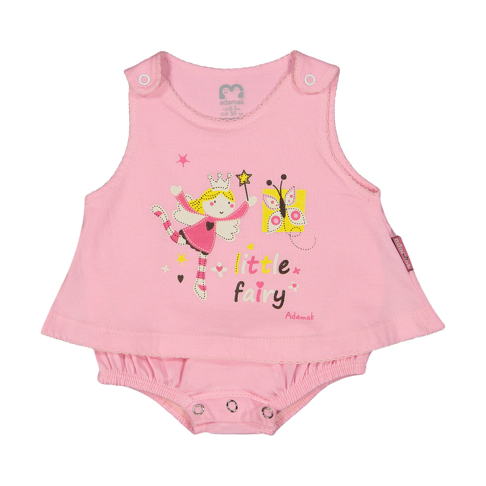 سرهمی نوزادی دخترانه آدمک مدل 2171108-84 -  - 2