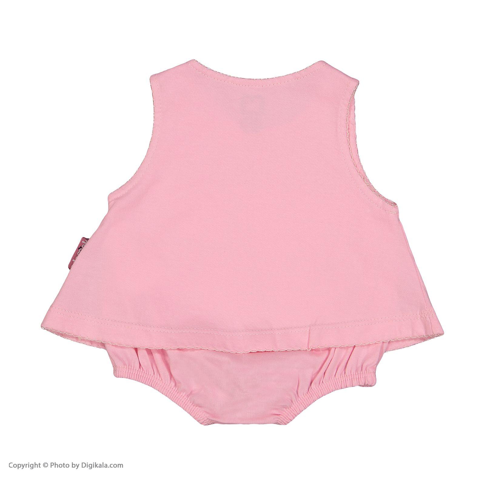 سرهمی نوزادی دخترانه آدمک مدل 2171108-84 -  - 4