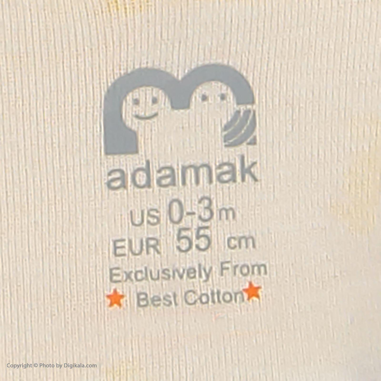 ست تی شرت و شورت نوزادی آدمک مدل 2171112-16 -  - 11