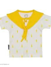 ست تی شرت و شورت نوزادی آدمک مدل 2171112-16 -  - 3