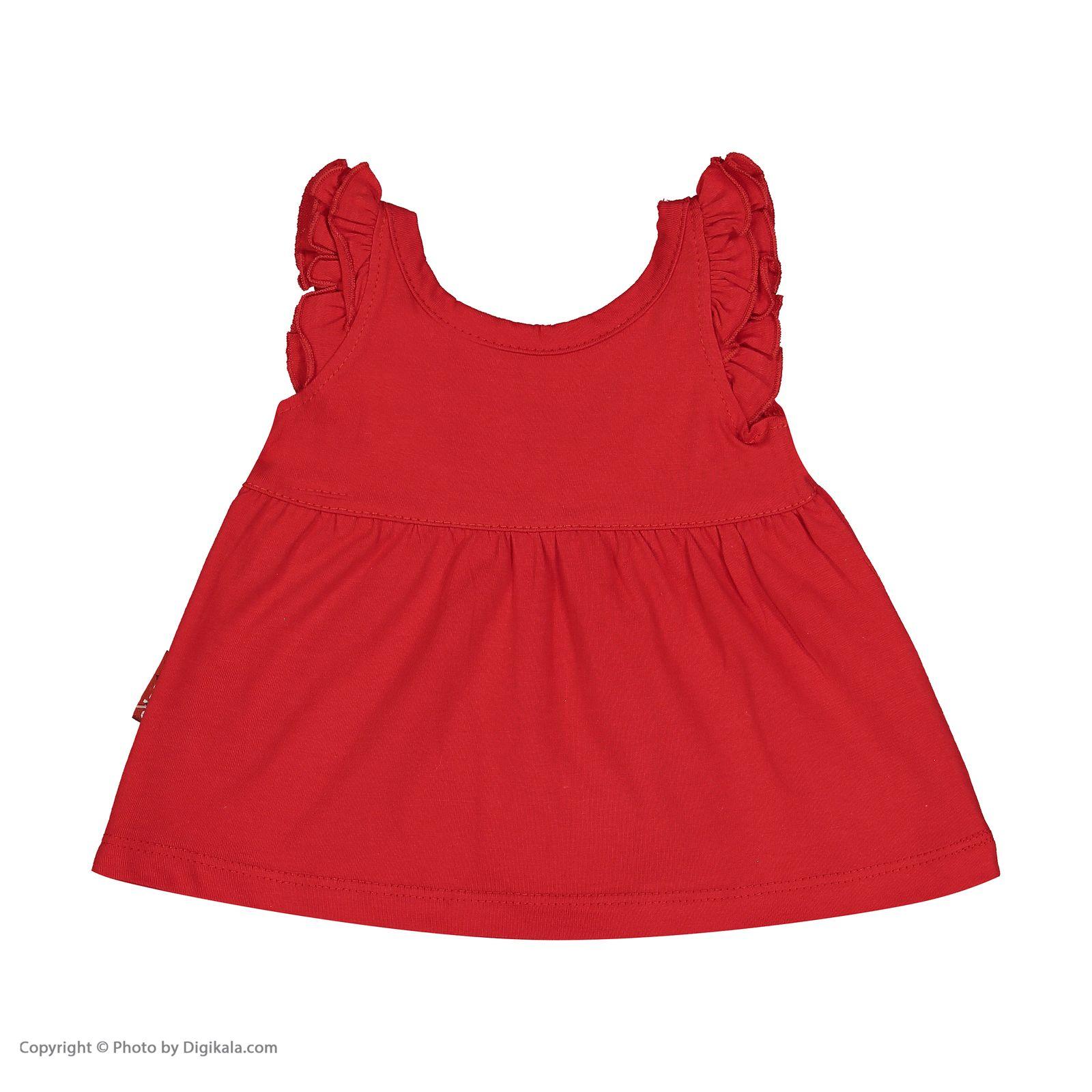 ست پیراهن و شورت نوزادی دخترانه مدل 2171111-72 -  - 6