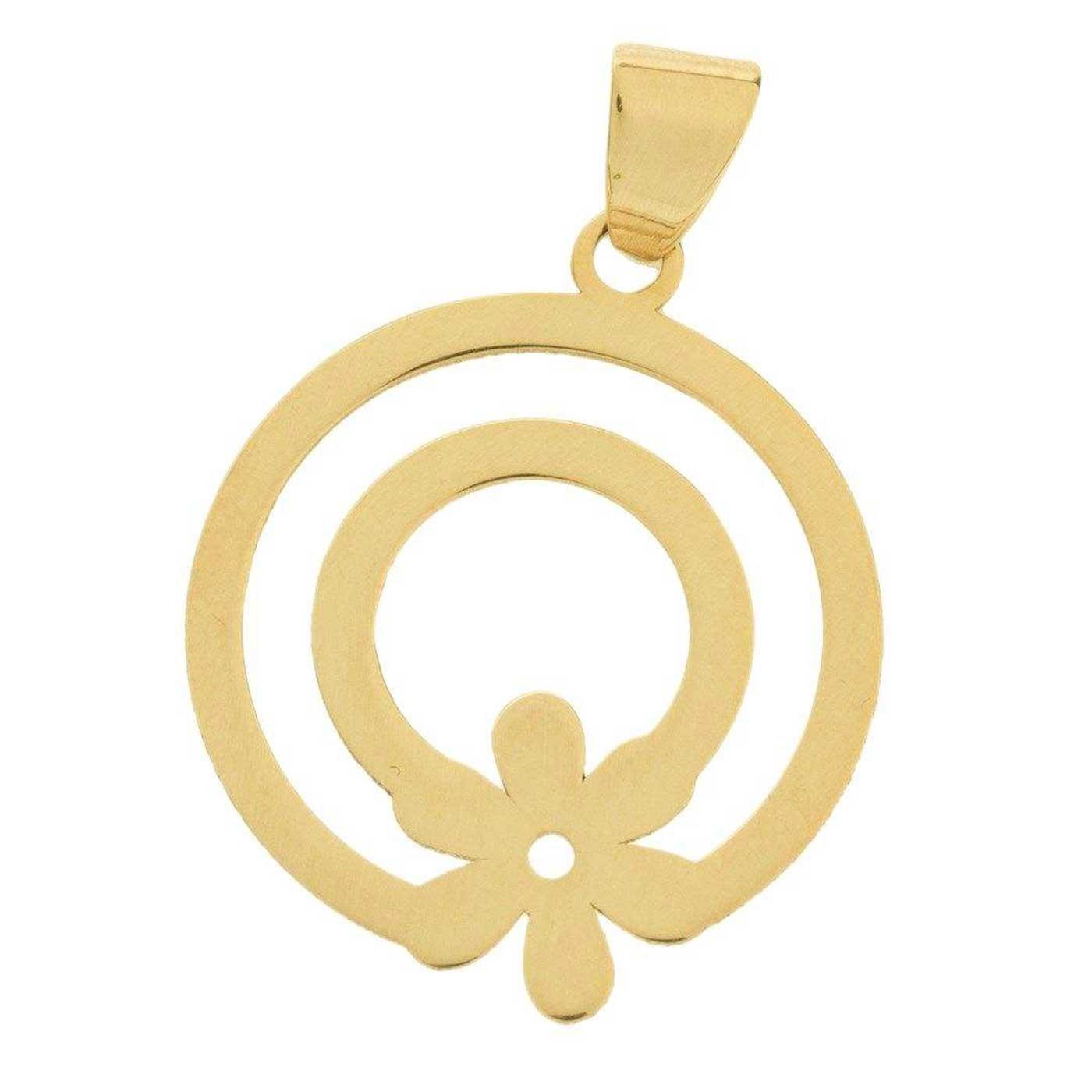 آویز گردنبند طلا 18 عیار زنانه کانیار گالری کد PE61 -  - 1