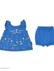 ست پیراهن و شورت نوزادی دخترانه مدل 2171111-58 -  - 3