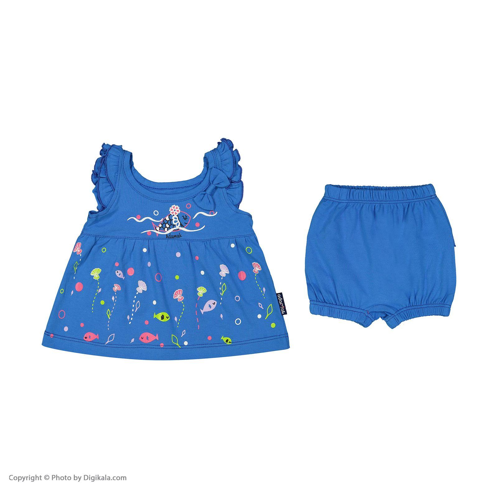 ست پیراهن و شورت نوزادی دخترانه مدل 2171111-58 -  - 4