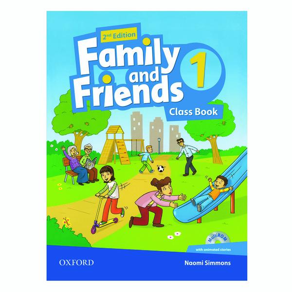 کتاب FAMILY AND FRIENDS 1 اثر NAOMI SIMMONS انتشارات OXFORD