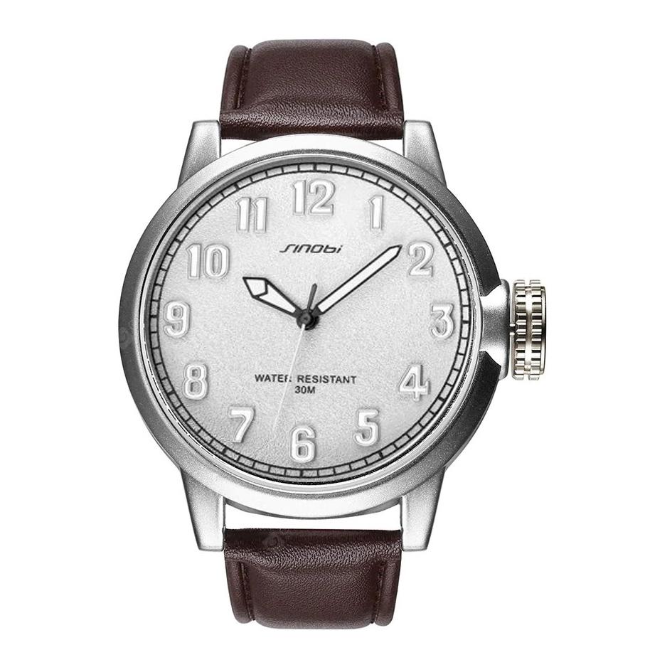 کد تخفیف                                      ساعت مچی عقربه ای مردانه سینوبی مدل S9608G WH