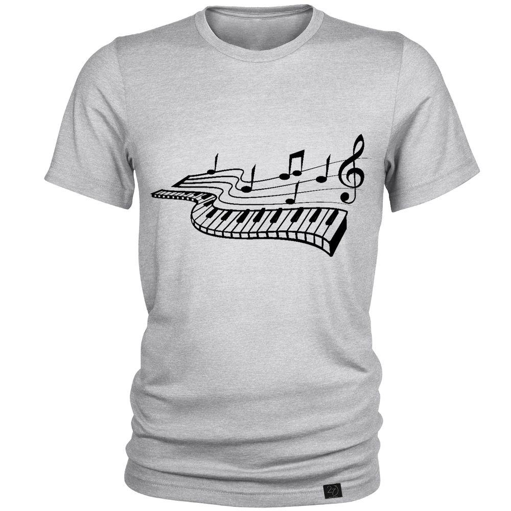 تیشرت مردانه 27 طرح پیانو کد J05