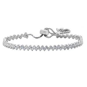 دستبند نقره زنانه اقلیمه کد DN97